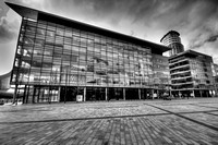 BBC AT MEDIA CITY SALFORD QUAYS MONO HDR MSP0002633